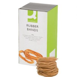 Q-Connect Rubber Bands No.24 152.4 x 1.6mm 500g KF10533 - KF10533