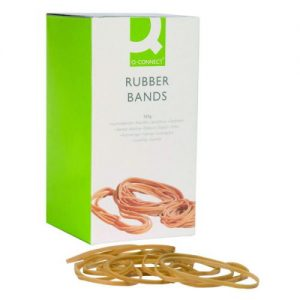 Q-Connect Rubber Bands No.33 88.9 x 3.2mm 500g KF10538 - KF10538