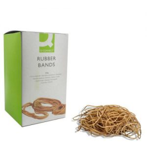 Q-Connect Rubber Bands No.64 88.9 x 6.3mm 500g KF10549 - KF10549