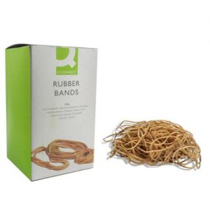 Q-Connect Rubber Bands No.75 101.6 x 9.5mm 500g KF10560 - KF10560