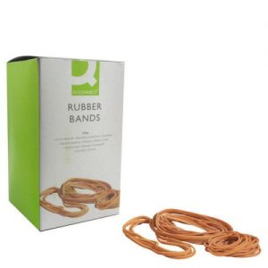 Q-Connect Rubber Bands No.89 152.4 x 12.7mm 500g KF10573 - KF10573
