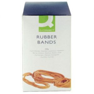 Q-Connect Rubber Bands Assorted Sizes 500g KF10577 - KF10577