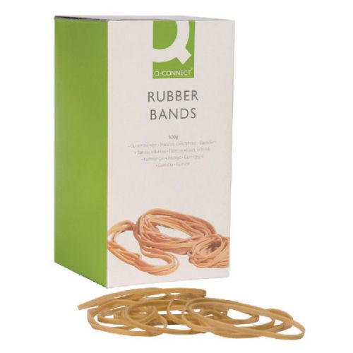 Q-Connect Rubber Bands Assorted Sizes 100g KF10673 - KF10673