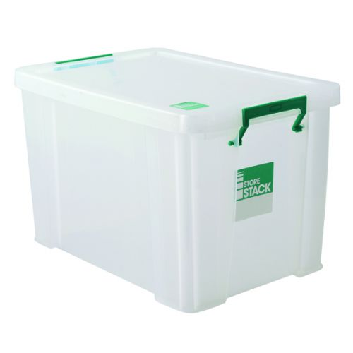 StoreStack Clear 2.6 Litre Storage Box W240 x D130 x H140mm RB00816 - RB00816