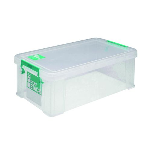 StoreStack 7.5 Litre Storage Box W250xD190xH160mm Clear RB00817 - RB00817