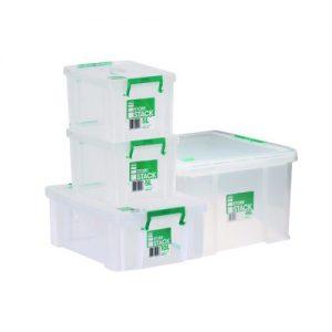 Storestack Box Bundle 2x5L 10L 48L (Pack of 4) 48LBUNDLE - RB03948