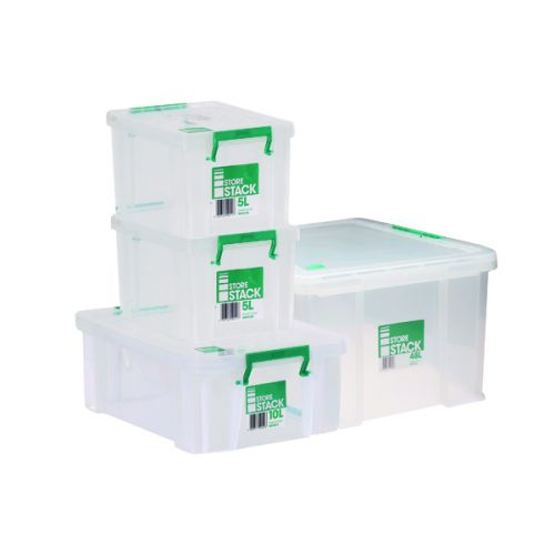 Storestack Box Bundle 2x5L 10L 48L (Pack of 4) 48LBUNDLE - RB03948