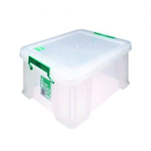 StoreStack 24 Litre Storage Box W480xD380xH190mm Clear RB11087 - RB11087