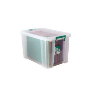 StoreStack 26 Litre Storage Box W470xD300xH290mm Clear RB11088 - RB11088