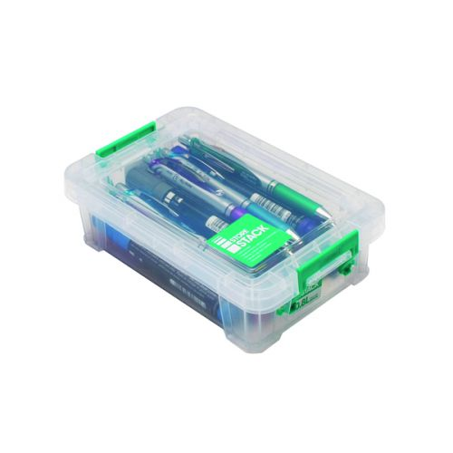StoreStack 0.8 Litre Storage Box W200xD125xH50mm Clear RB90118 - RB90118