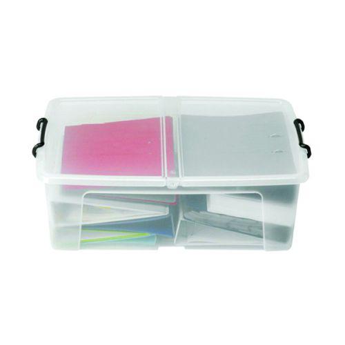 Strata 50L Smart Box with Lid Clear HW675 - AQ03951
