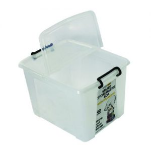 Strata Smart Box 40 Litre Clear (Exterior W395 x D500 x H320mm) HW674 - AQ03954