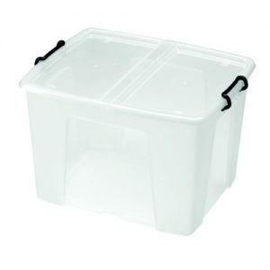 Strata Smart Box 65 Litre Clear (W450 x D610 x H340mm) HW686 - AQ04688