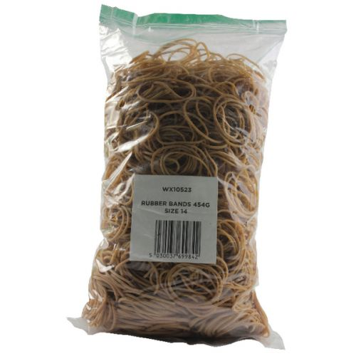 Size 14 Rubber Bands (Pack of 454g) 2429549 - WX10523