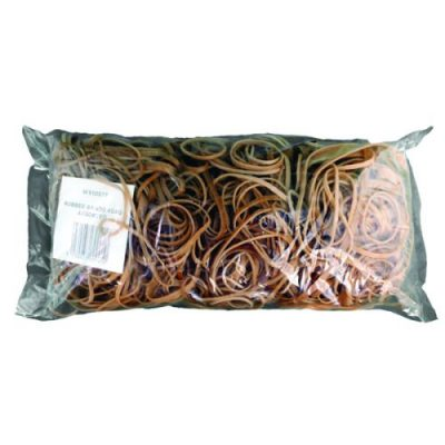 Assorted Size Rubber Bands Pack of 454g (Designed to be used over and over) 9340013 - WX10577
