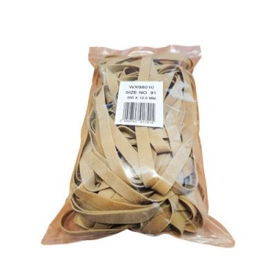 Size 91 Rubber Bands 454g Pack 9340012 - WX98010