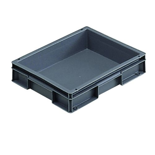 VFM 400x300x74mm Grey European Stacking Container 307455 - SBY04908
