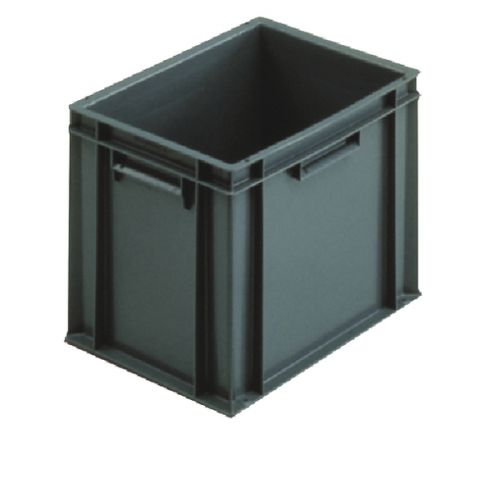 VFM 400x300x319mm Grey European Stacking Container 307483 - SBY04924