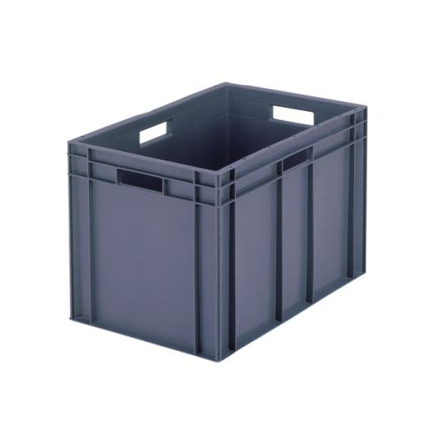 VFM 600x400x319mm Grey European Stacking Container 63192 - SBY04929