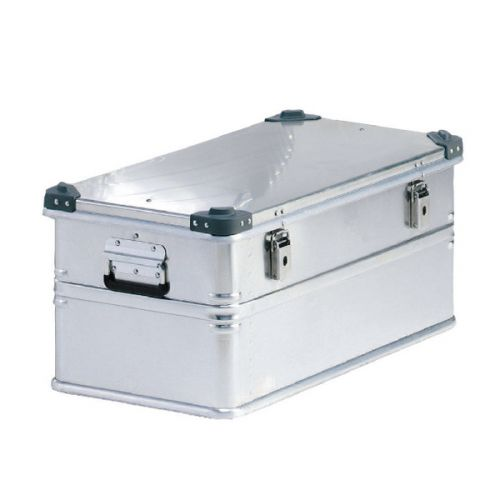 Container With Lid 50kg Capacity Aluminium 30969 - SBY05656