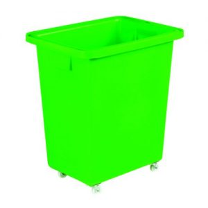 580X410X700mm Green Mobile Nesting Container 328219 - SBY12932