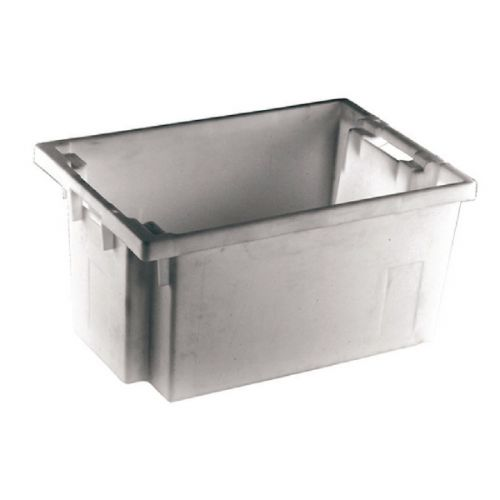 Solid Slide Stack/Nesting Container 600X400X300mm Grey 382968 - SBY24794