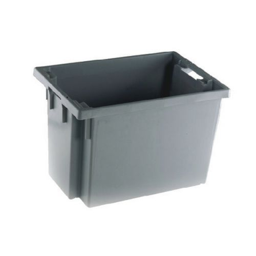 Solid Slide Stack/Nesting Container 600X400X400mm Grey 382976 - SBY24798