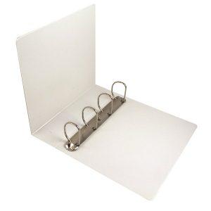 Esselte 60mm 4 D-Ring Presentation Binder A4 White 49706 - ES600555