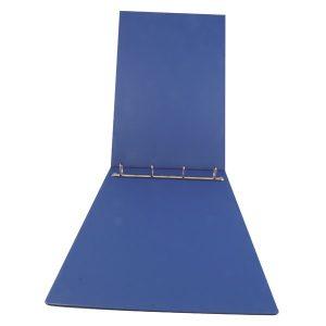 Esselte 4 D-Ring Binder 25mm Polypropylene Landscape A3 Blue 68735 - ES68735