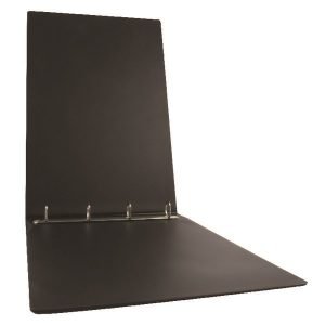 Esselte 4 O-Ring Binder 25mm Polypropylene Landscape A3 Black 68737 - ES68737