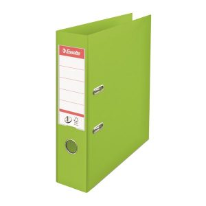 Esselte 75mm Lever Arch File Polypropylene A4 Green (Pack of 10) 624069 - ES80663
