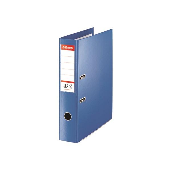 Esselte 75mm Lever Arch File Polypropylene Foolscap Blue (Pack of 10) 48085 - ES80854