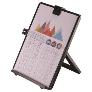 Fellowes Workstation Document Holder Black 21106 - BB21106