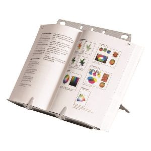 Fellowes BookLift Document Holder Silver 21140 - BB21140