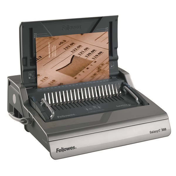 Fellowes Galaxy Electric Comb Binding Machine 5622101 - BB52226