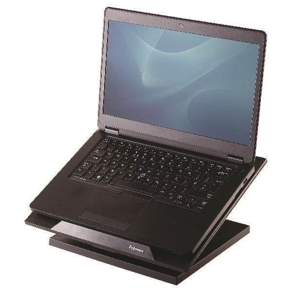 Fellowes Designer Suites Laptop Riser Black 8038401 - BB52806