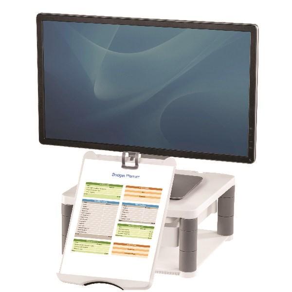 Fellowes Premium Monitor Riser Plus Graphite 9169501 - BB52975