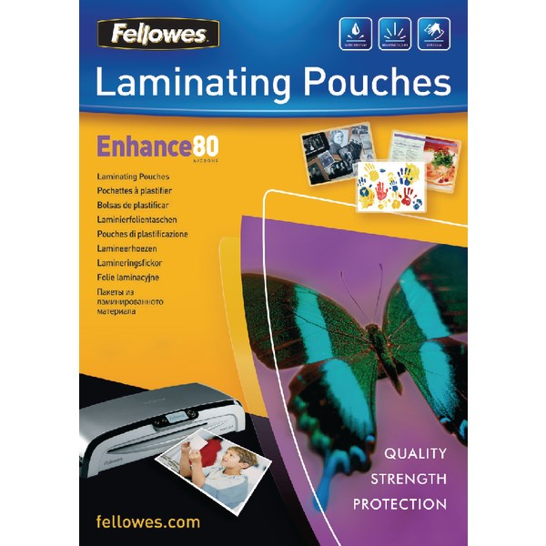 Fellowes A3 Laminating Pouch 160 Micron (Pack of 100) 5306207 - BB53062