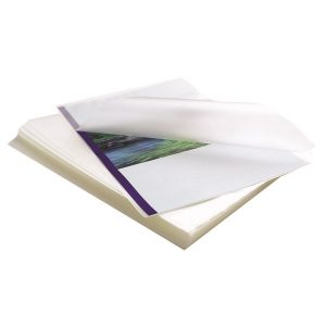 Fellowes Apex A4 Laminating Pouches Clear (Pack of 100) 6003301 - BB58486