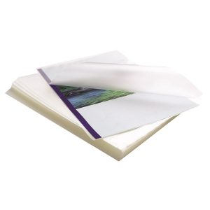 Fellowes Apex A3 Medium Laminating Pouches Clear (Pack of 100) 6003401 - BB58487