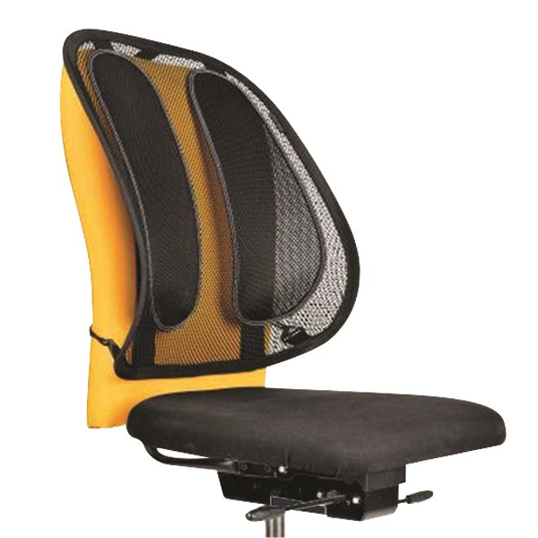 Fellowes Office Suites Mesh Back Support Black 9191301 - BB60043