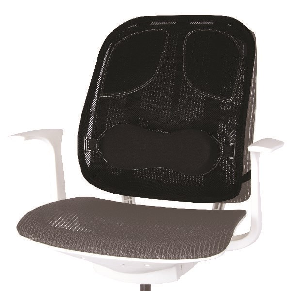 Fellowes Professional Series Mesh Back Support Black 8029901 - BB60096