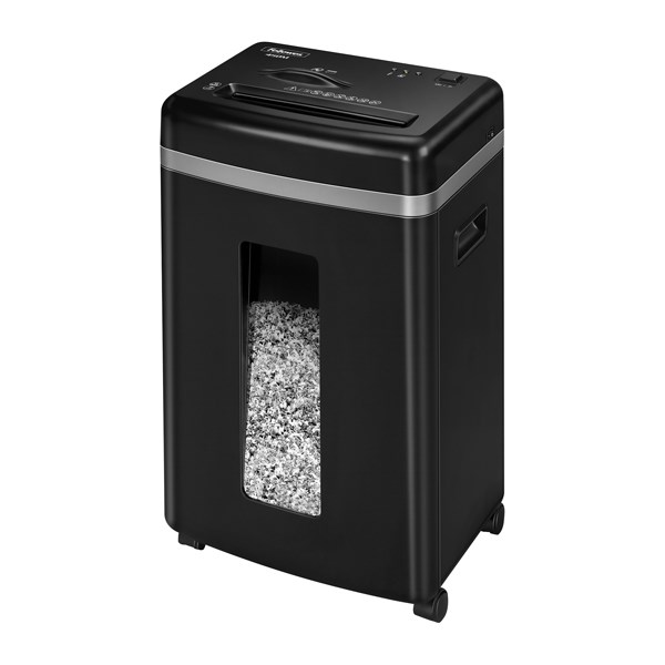 Fellowes 450M Micro Cut Shredder Black 4074201 - BB70322