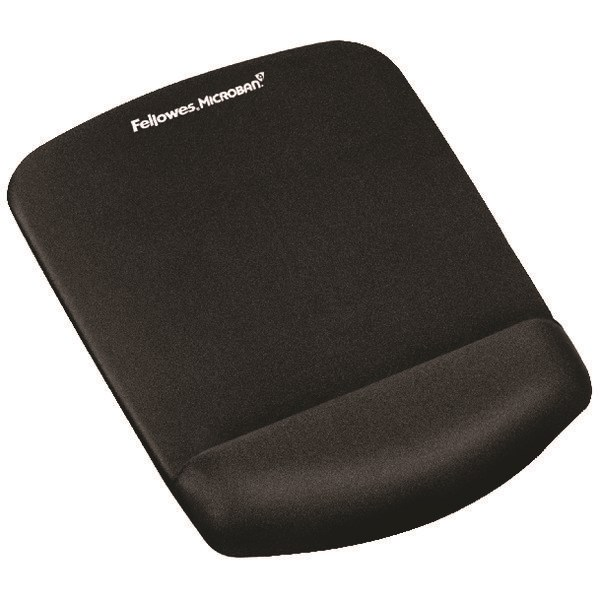 Fellowes PlushTouch Mouse Pad Black 9252003 - BB71891