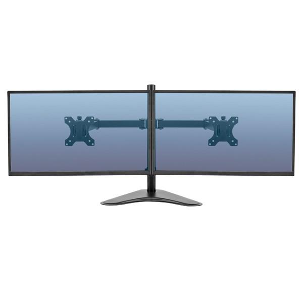 Fellowes Professional Series Free Standing Dual Horizontal Monitor Arm 8043701 - BB72800