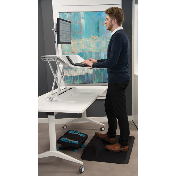 Fellowes ActiveFusion Anti-Fatigue Sit-Stand Mat Black 8707101 - BB72805