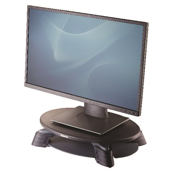Fellowes Rotating Monitor Riser Graphite (Platform rotates 45 degrees