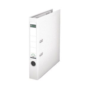 Leitz 180 Lever Arch File Poly 52mm A4 White (Pack of 10) 10151001 - LZ101501