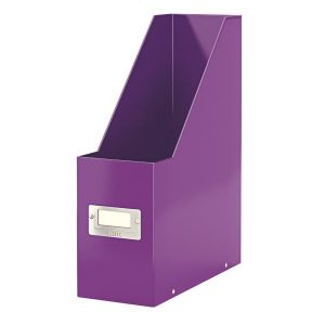 Leitz WOW Click and Store Magazine File Purple 60470062 - LZ10388