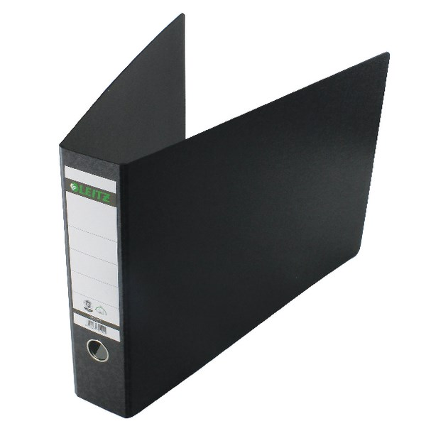 Leitz 180 Oblong Lever Arch File Board A3 Black (Pack of 2) 310680095 - LZ1073